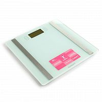 Весы напольные электронные SCARLETT SC-BS33ED85 белый, стекло, 180 кг