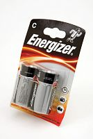 Батарейка алкалиновая ENERGIZER MAX LR14-2BL, блистер, (1 уп - 2 шт), C, 1,5 В