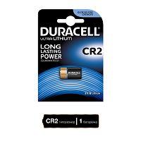 Батарейка литиевая DURACELL Ultra CR2-1BL, блистер, (1 уп - 1 шт), CR2, 1500 mAh, 3 В