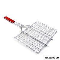 Решетка для барбекю 35х25х62 см / 5811 /уп 30/ плоская
