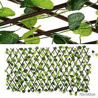 Искусственные листья на заборе 70х140 см / 77-19N /уп 50/