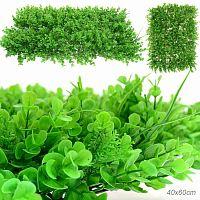 Трава искусственная 40х60 см / 77-15N /уп 50/