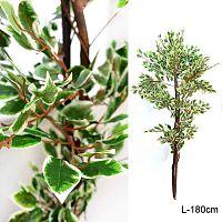 Дерево искусственное Фикус 180 см / JW52751 /уп 12/ без основания