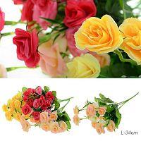 Цветок искусственный / W37226 /уп 200/600/