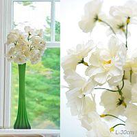 Цветок искусственный Вишня 30 см 6 бутонов / W06-005 /уп 700/