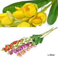Цветок искусственный Ландыш 90 см / W35718 /уп 400/