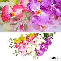 Цветок искусственный Орхидея 66 см 6 цветков / 0341-53 /уп 400/800/