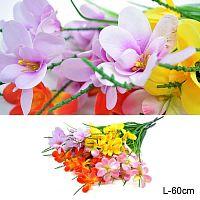 Цветок искусственный Полевые цветы / AJB32182 /уп 1200/