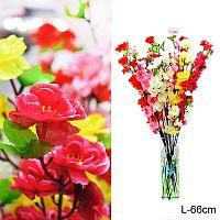 Цветок искусственный Сакура 66 см / 0341-69 /уп 500/1500/ цвет микс