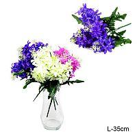Цветок искусственный Сирень 32 см / 117-5 /уп 1200/