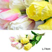 Цветок искусственный Тюльпан 74 см / 0341-60 /уп 200/800/