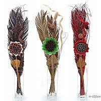 Сухоцветы набор 100 см / 18-49 /уп 100/без вазы