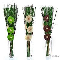 Сухоцветы набор 100 см / 18-50 /уп 100/без вазы