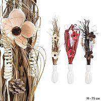 Сухоцветы набор 75 см / 18-1 /уп 100/без вазы