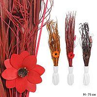 Сухоцветы набор 75 см / SB489 /уп 120/ без вазы