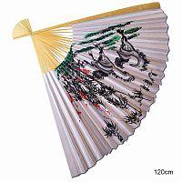 Веер интерьерный 120 см /уп.40/ Кони