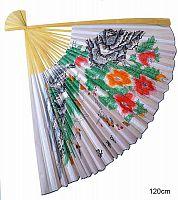 Веер интерьерный 120 см /уп.40/ Цветы