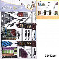 Наклейка декоративная 32х52 см / GG-004 /