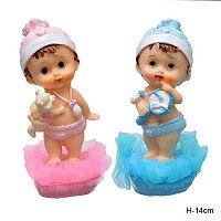 Фигурка Ангел с игрушками 14 см / Y7530 /уп 192/