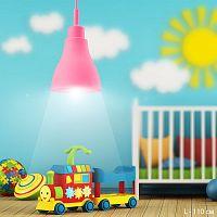 Светильник потолочный /1 x E27 розовый / 1018 /уп 100/Акция