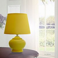 Светильник настольный Высота 30 см желтый / TD14502 / Ex14 /Акция