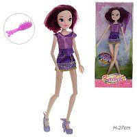 Кукла с темными волосами / 022-1-2 /уп 96/акция