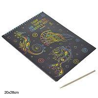 Набор для творчества Гравюра в книге 12 листов / 280 / M-4290  /уп 220/