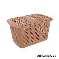 Корзина Мини 355х230х200 / М6244 /уп 18/ светло-коричневый