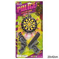 Игровой набор пистолетов Полиция / 338817A /уп 192/ нарушена упаковка
