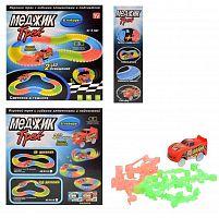 Конструктор гоночная трасса 120 деталей 1 машинка / YH29943/7011R /уп 96/  набор конструкторский