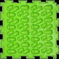 """Орто-коврик """"Желуди"""" жесткий салатовый 1шт 25см*25см модульный коврик Орто (ОРТОДОН)"""