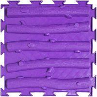 """Орто-коврик """"Лесенка"""" жесткий фиолетовый 1шт 25см*25см модульный коврик Орто (ОРТОДОН)"""
