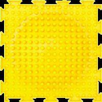 """Орто-коврик """"Островок"""" желтый жесткий 1шт 25см*25см модульный коврик Орто (ОРТОДОН)"""