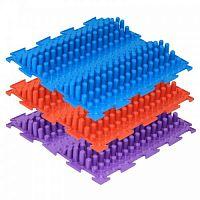 Модульный массажный коврик ОРТО «Волна», жесткая 3 шт