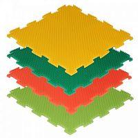 Модульный массажный коврик ОРТО «Трава», мягкая 4шт