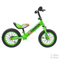 """Беговел 12"""" COMIRON GT05G12 /уп 1/ зеленый"""