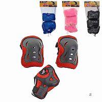 Защита для катания на роликах и велосипеде 6 предметов / D-023S /уп 100/микс 4 цвета