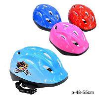 Шлем защитный / YF8 /уп 40/микс 4 цвета