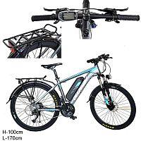 Электровелосипед / ML-26 /уп 1/ черно-бирюзовый