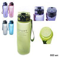 Бутылка для воды 600 мл / YB-0320 / уп 10/60/ микс