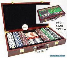 Покер фишки, карты / 6643 /уп.4/