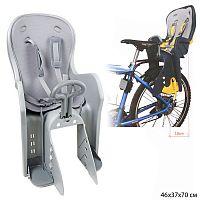 Кресло для велосипеда / BQ-9-1GRAY /уп 4/