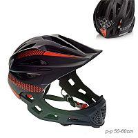 Шлем защитный / BR2210 /уп 30/BLACK+RED