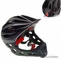 Шлем защитный / BW2210 /уп 30/BLACK+WHITE