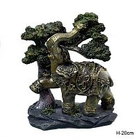 Статуэтка Слон 20 см  / 60146 /уп 12/
