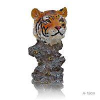 Фигурка Голова тигра 19 см / L-1065 /уп 48/Акция