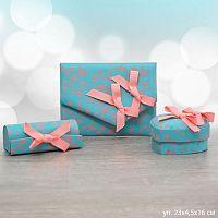 Подарочный набор аксессуаров (кошелек, шкатулка, помадница) / 14001/ зеленый Акция
