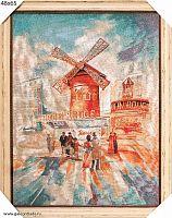 Картина гобелен 48х65 Бульвар Мулен Руж / KS4821-3 / иваново