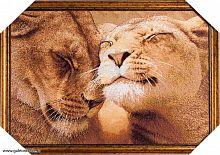 Картина гобелен 35х52 Верность / 10036-4 / иваново