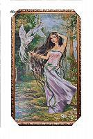 Картина гобелен 60x120 Танец с голубями / R243 / JM317-1G /